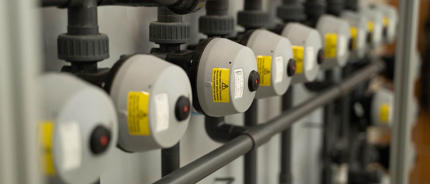 Lösungen für Sie Metalloberflächentechnik Ventile